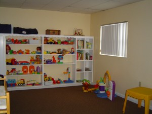 Kids play room is also available